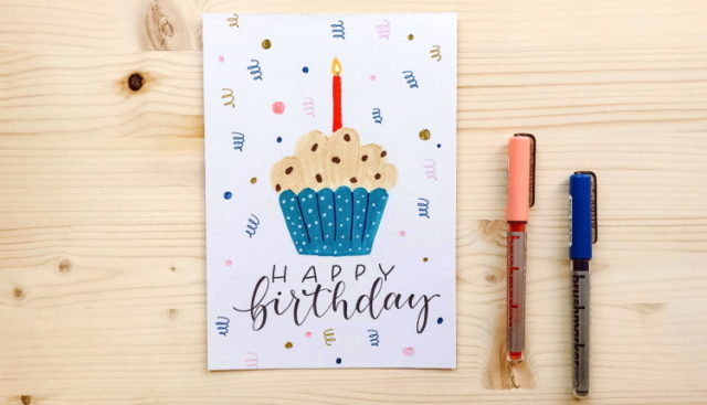 Geburtstagskarte Ideen